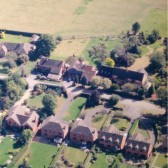 Aerial photo of Redroofs Bed and Breakfast